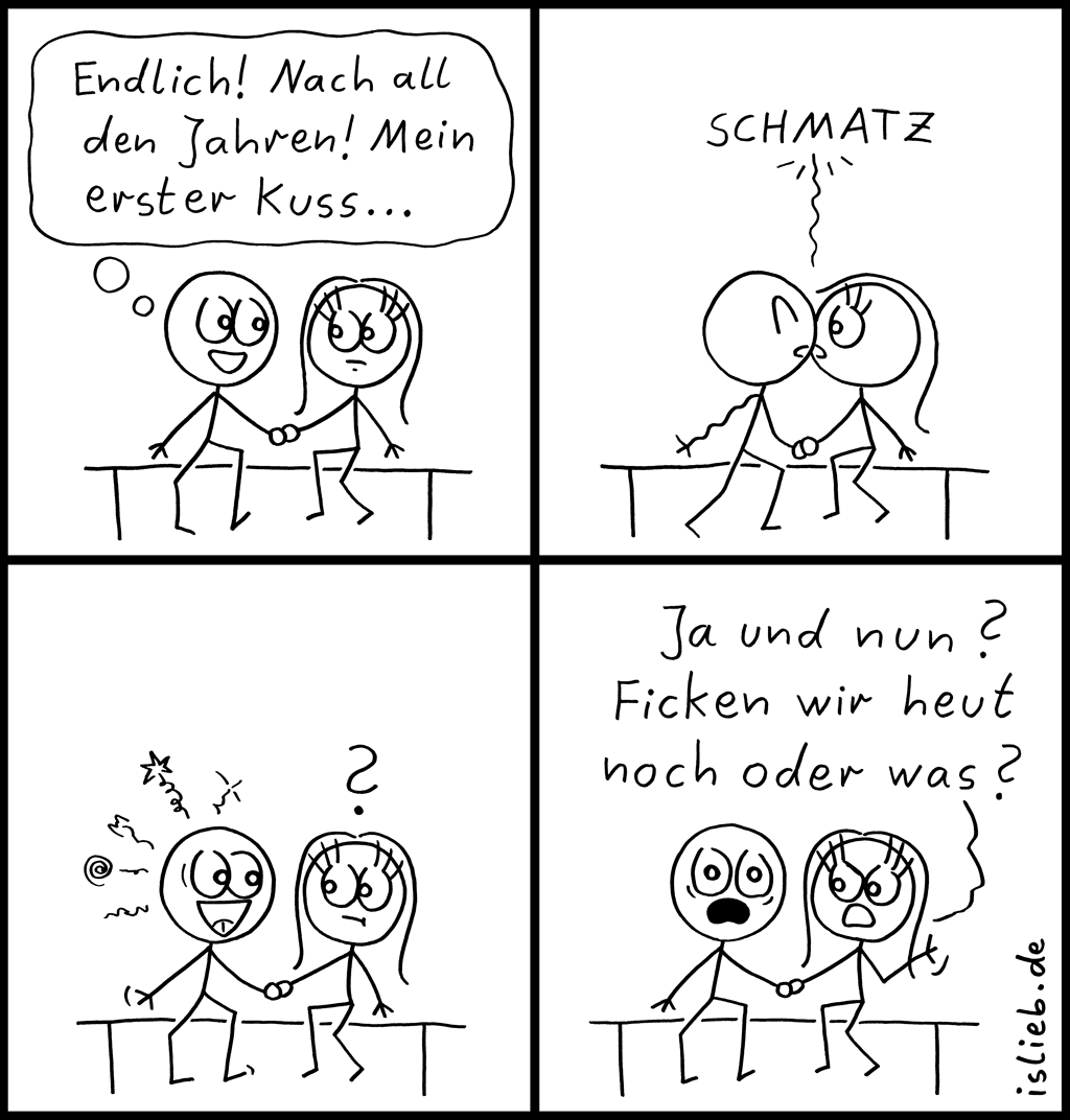 der erste kuss comic 5 islieb. Black Bedroom Furniture Sets. Home Design Ideas
