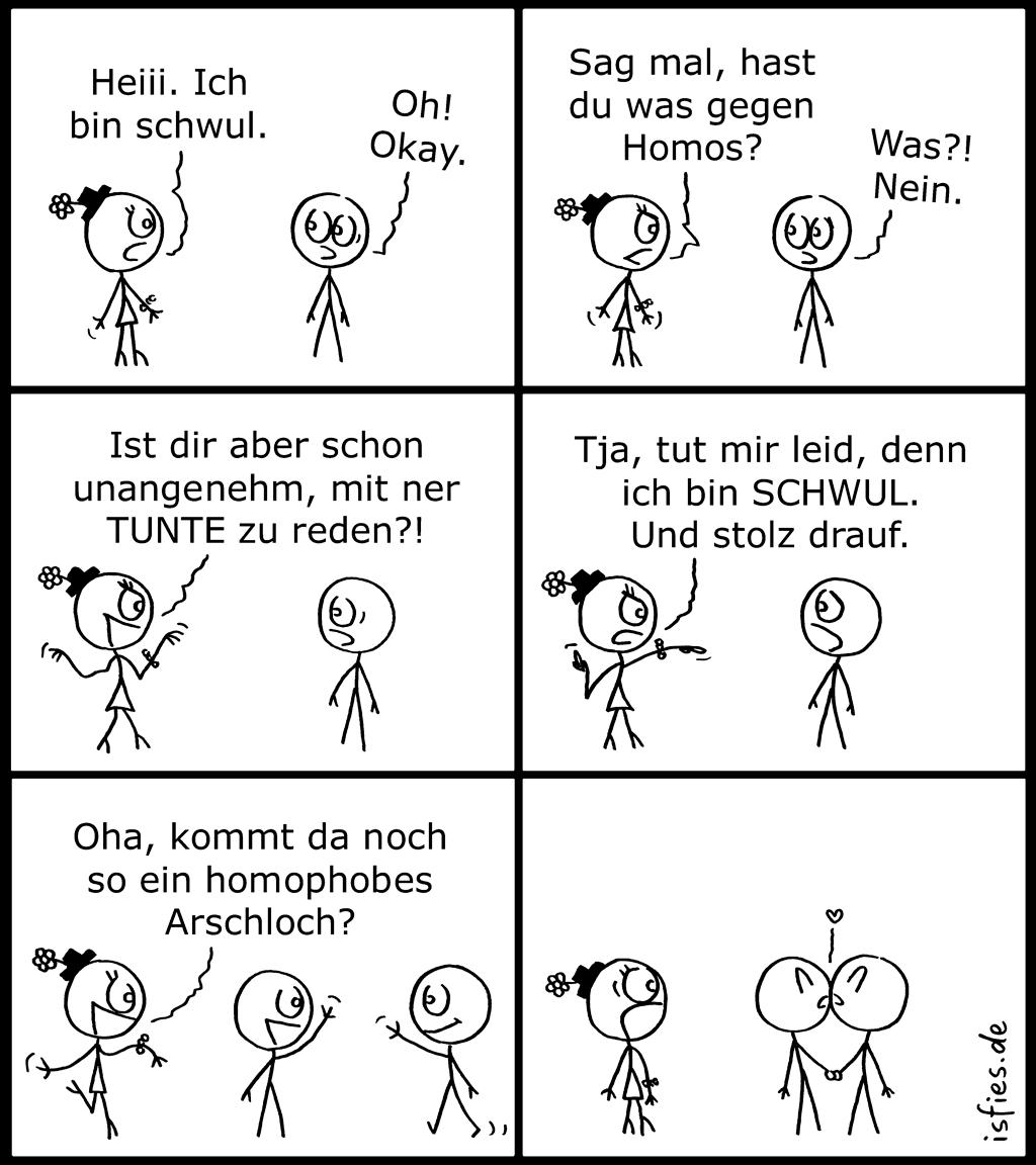 Schwul Comic 45 Isfies