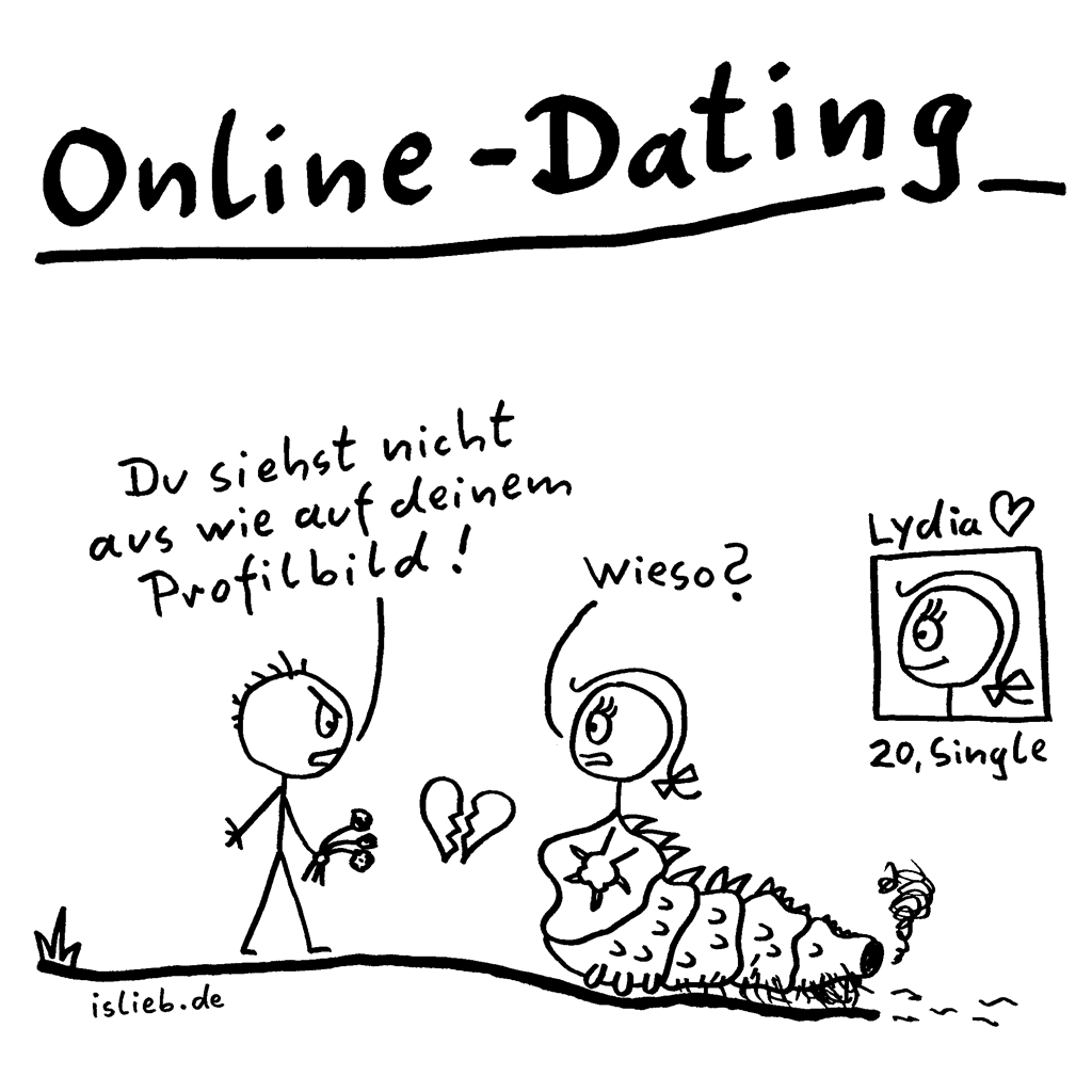 Online Dating Dilemma BlackNWhiteComics