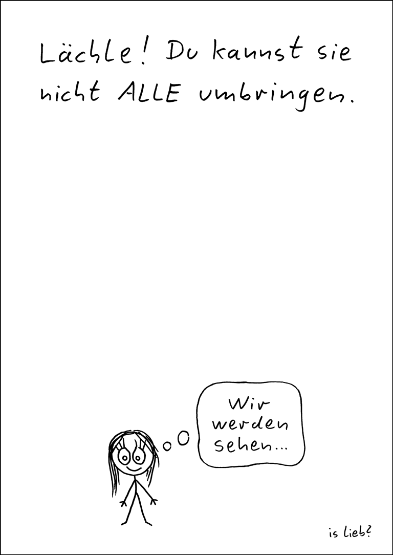 Lächle-Poster islieb