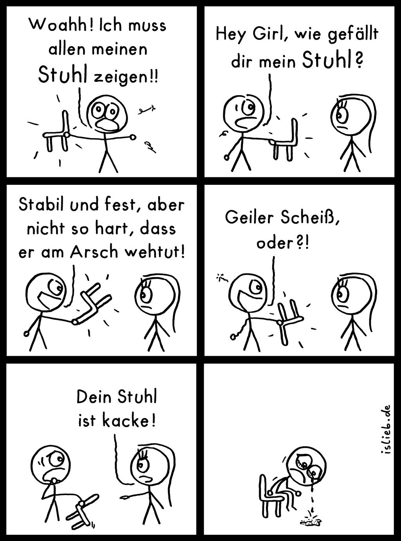 Stuhl comic  Stuhl | Comic #145 | islieb