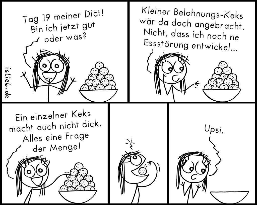 Belohnung | Diät-Comic | is lieb?