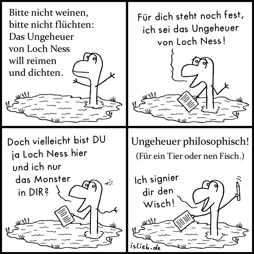 Loch Ness | Ungeheuer-Poesie | is lieb?