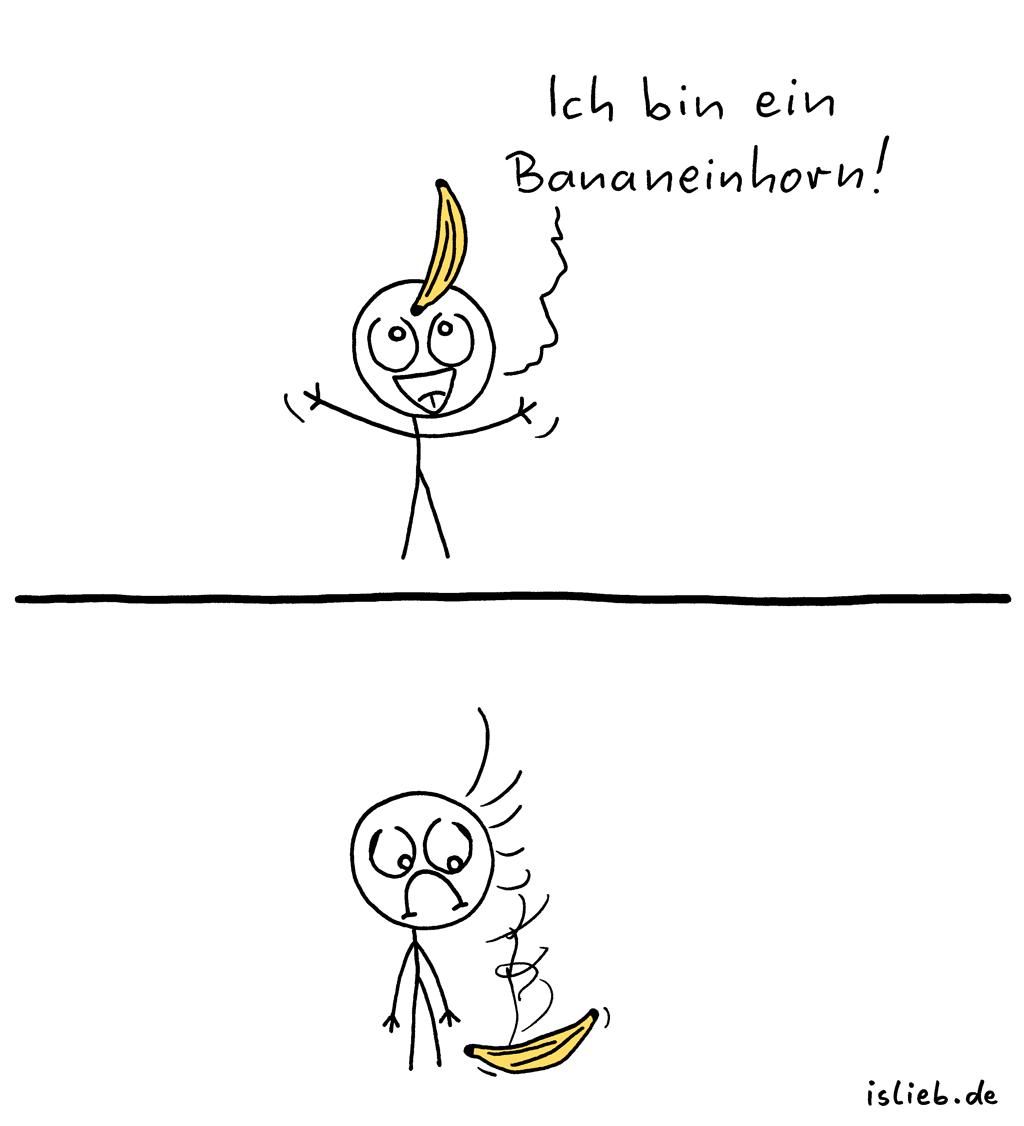 Bananeinhorn | is lieb?