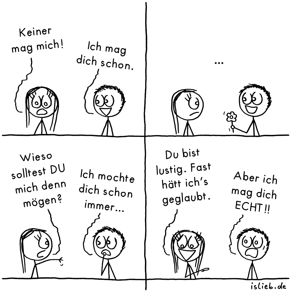 keiner mag mich comic 520 islieb. Black Bedroom Furniture Sets. Home Design Ideas