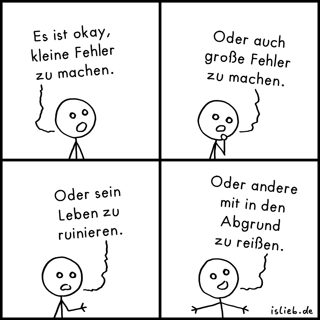 kleine fehler comic 534 islieb. Black Bedroom Furniture Sets. Home Design Ideas