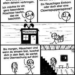 Plüschtier | Horror-Comic | is lieb?