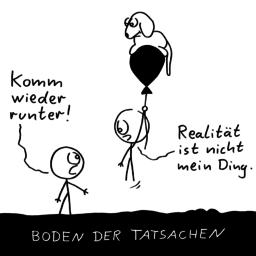Runter | Realitäts-Cartoon | is lieb?