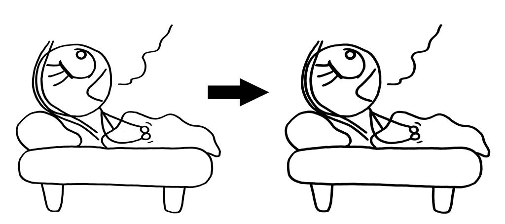 schlafenszeit linienstärke