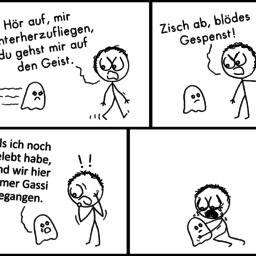 Gespenst | Geister-Comic | is lieb?
