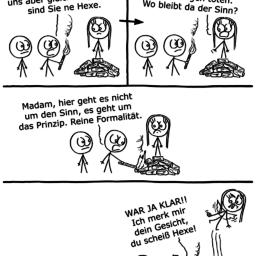 Hexentest | Mittelalter-Comic | is lieb?