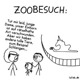 Zoobesuch | Tier-Cartoon | is lieb?