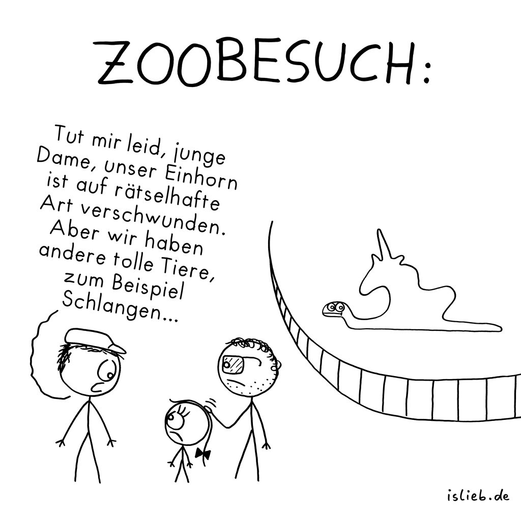 Zoobesuch | Tier-Cartoon | is lieb?