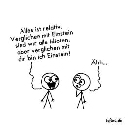 Relativität | Is fies!