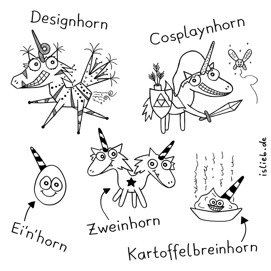 Einwandfreinhoerner | Einhorn-Cartoon | is lieb?