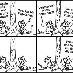 Essensplanung | Katzen-Comic | is lieb?