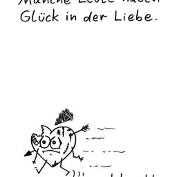 Liebesglück | Frust-Cartoon | is lieb?