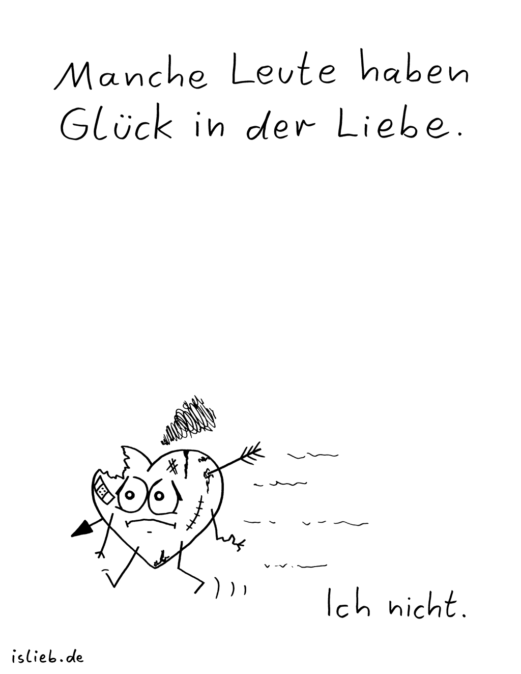 Liebesglück | Frust-Cartoon | is lieb?