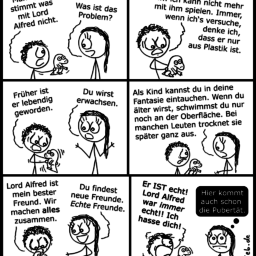 Lord Alfred | Kindheits-Comic | is lieb?
