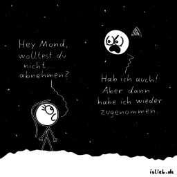 Mondprobleme | Jojo-Cartoon | is lieb?