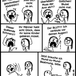 Schnitt | Notfall-Comic | is lieb?