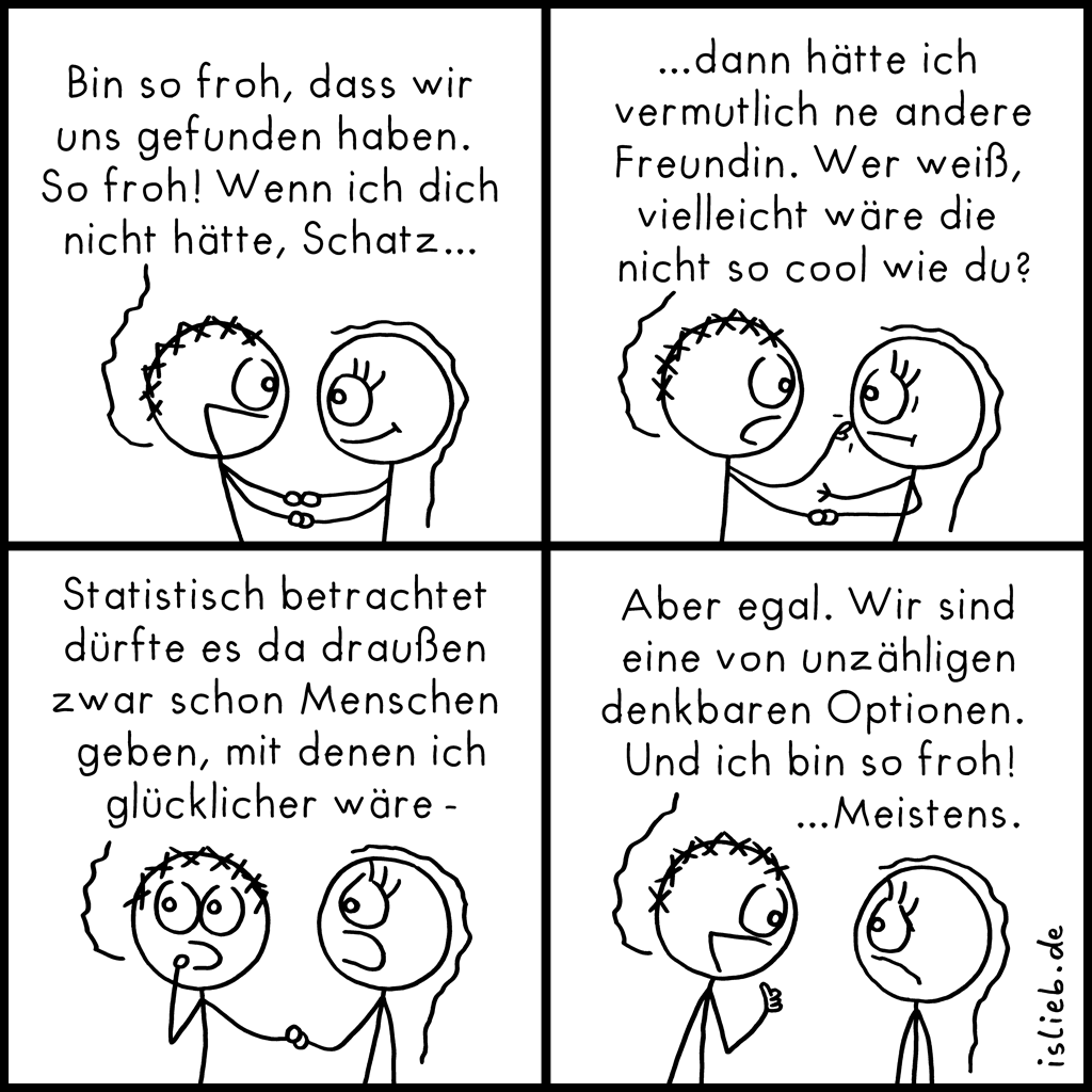 So froh | Beziehungs-Comic | is lieb?
