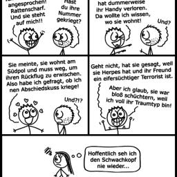 Frauenheld | Flirt-Comic | is lieb?