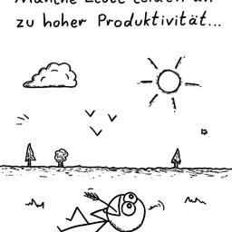 Manche Leute | Freizeit-Cartoon | is lieb?