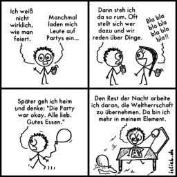 Element | Party-Comic | is lieb?