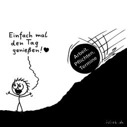 Genießer | Genuss-Cartoon | is lieb?