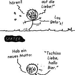 Motto | Lebensmotto-Comic | is lieb?