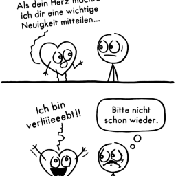 Neuigkeit | Herz-Comic | is lieb?