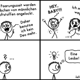 Pheromone | Sommer-Comic | is lieb?