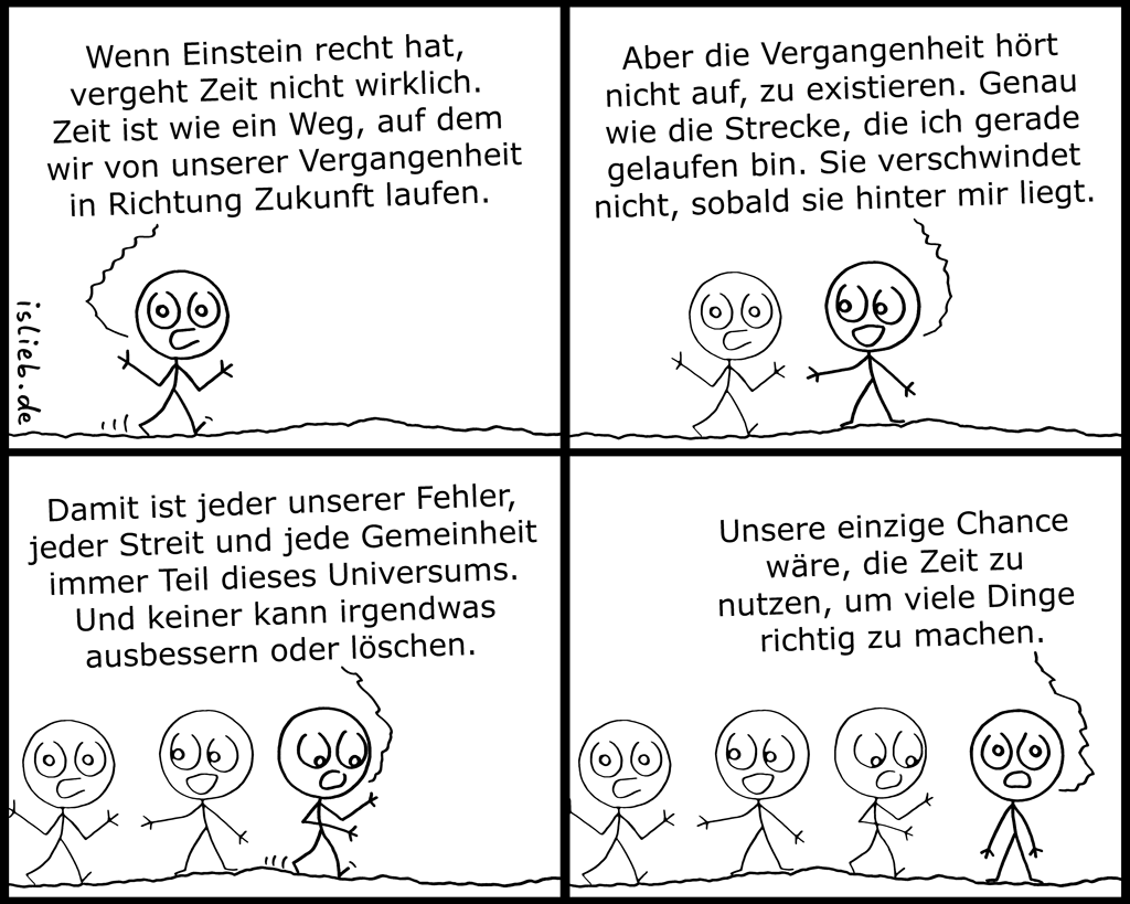 Zeit | Physik-Comic | is lieb?