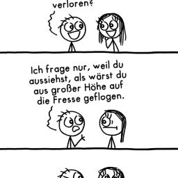 Engel vom Himmel | Sprüche-Comic | is lieb?