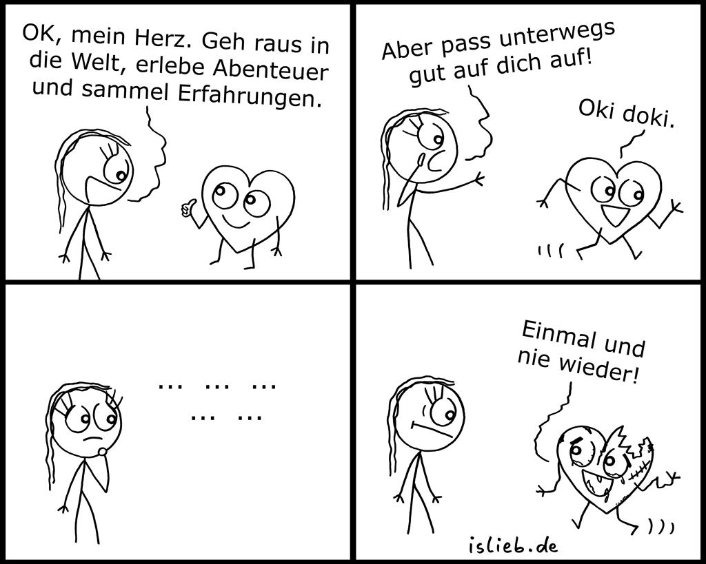 Erfahrungen | Herz-Comic | is lieb?