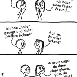 In festen Händen | Polygamie-Comic | is lieb?