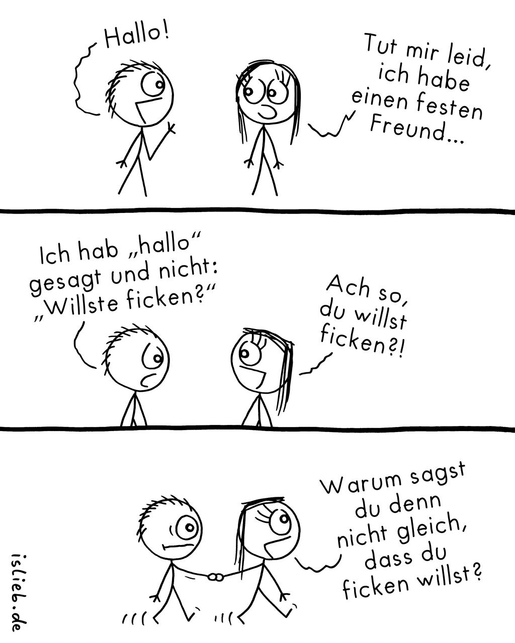 In festen Händen | Polygamie-Comic | is lieb?
