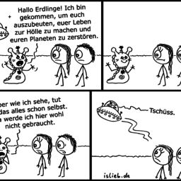 Invasion | Alien-Comic | is lieb?