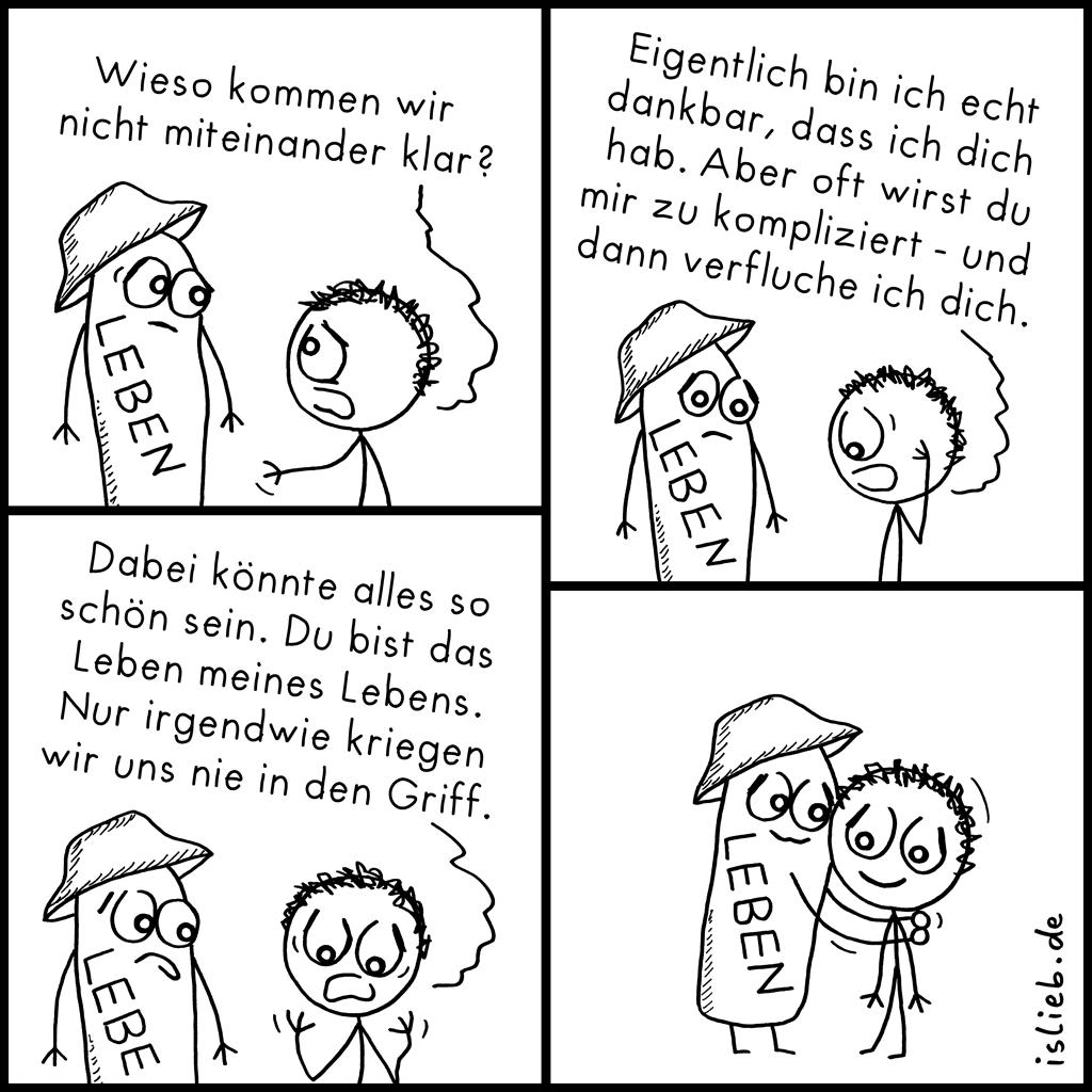 Leben | Versöhnungs-Comic | is lieb?