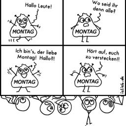 Montag | Wochenstart-Comic | is lieb?