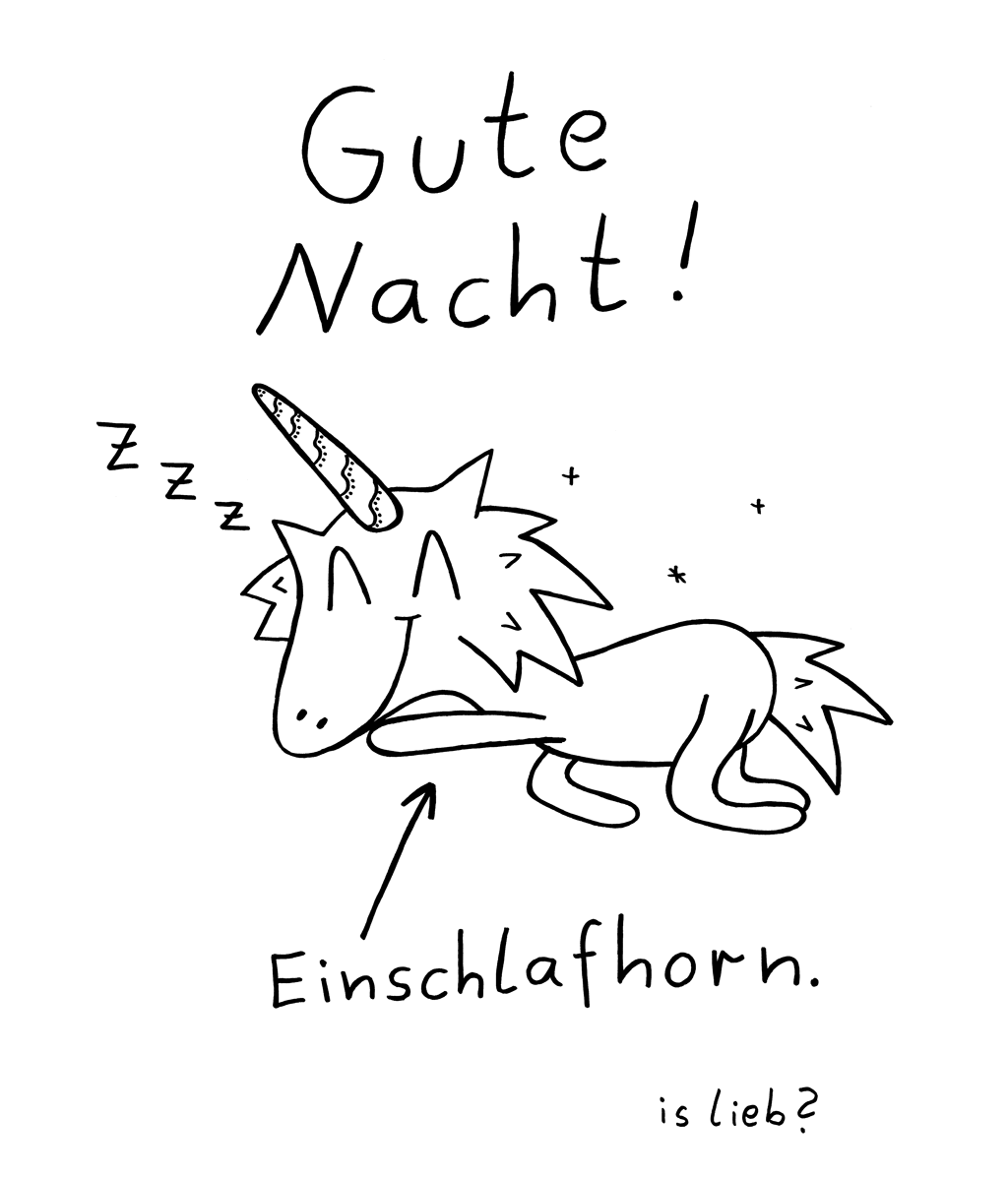 Nachticorn - Gute Nacht - islieb