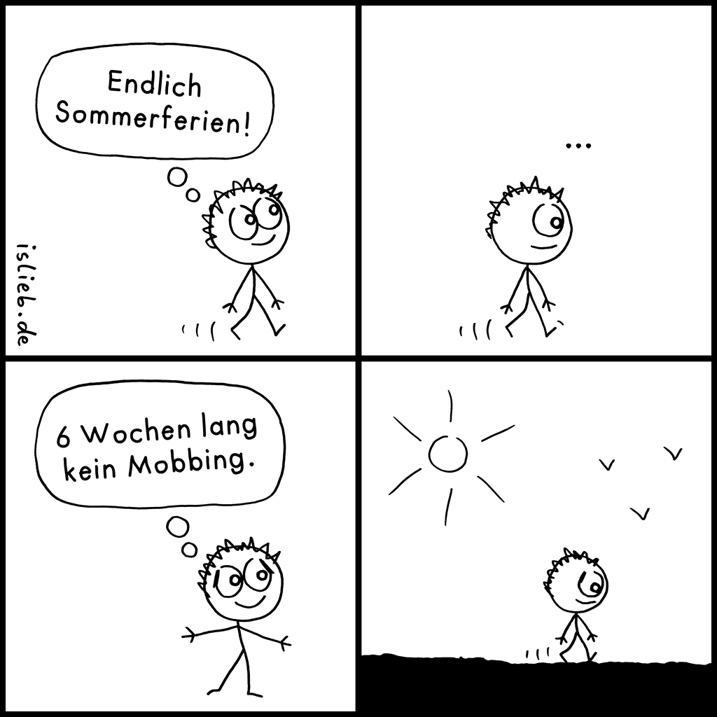 Endlich | Ferien-Comic | is lieb?