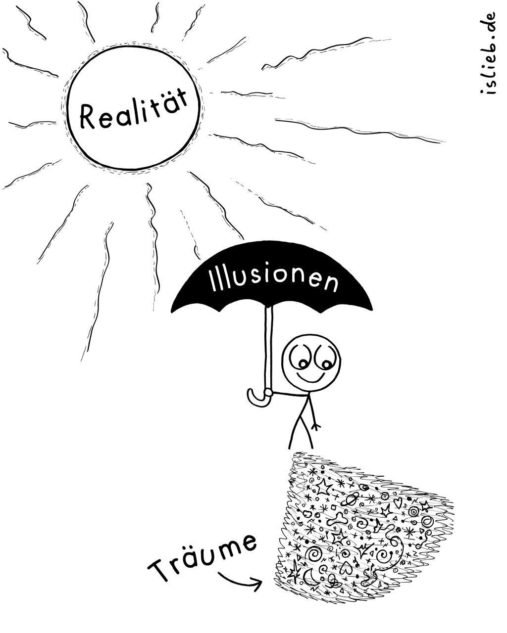 Illusionen   Comic-Träume   is lieb?