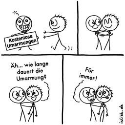 Umarmung | Free-Hugs-Comic | is lieb?