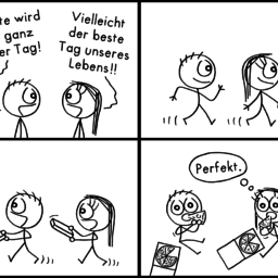 Toller Tag | Pizza-Comic | is lieb?