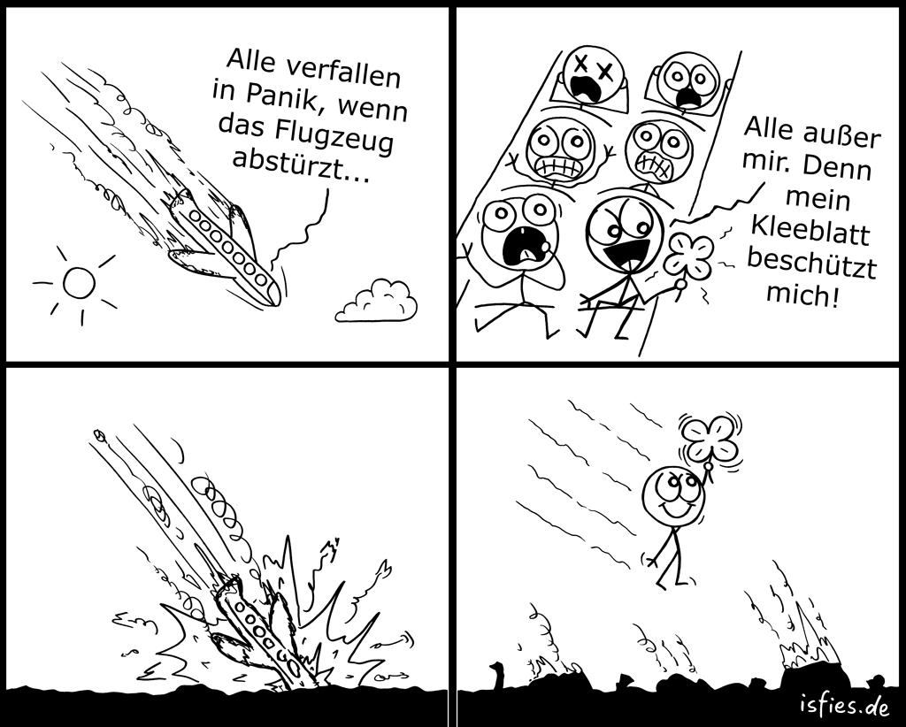 Flugzeug | Is fies!