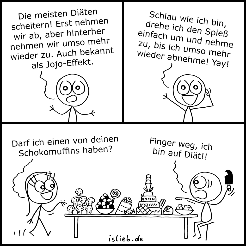 Jojo-Trick | Diät-Comic | is lieb?