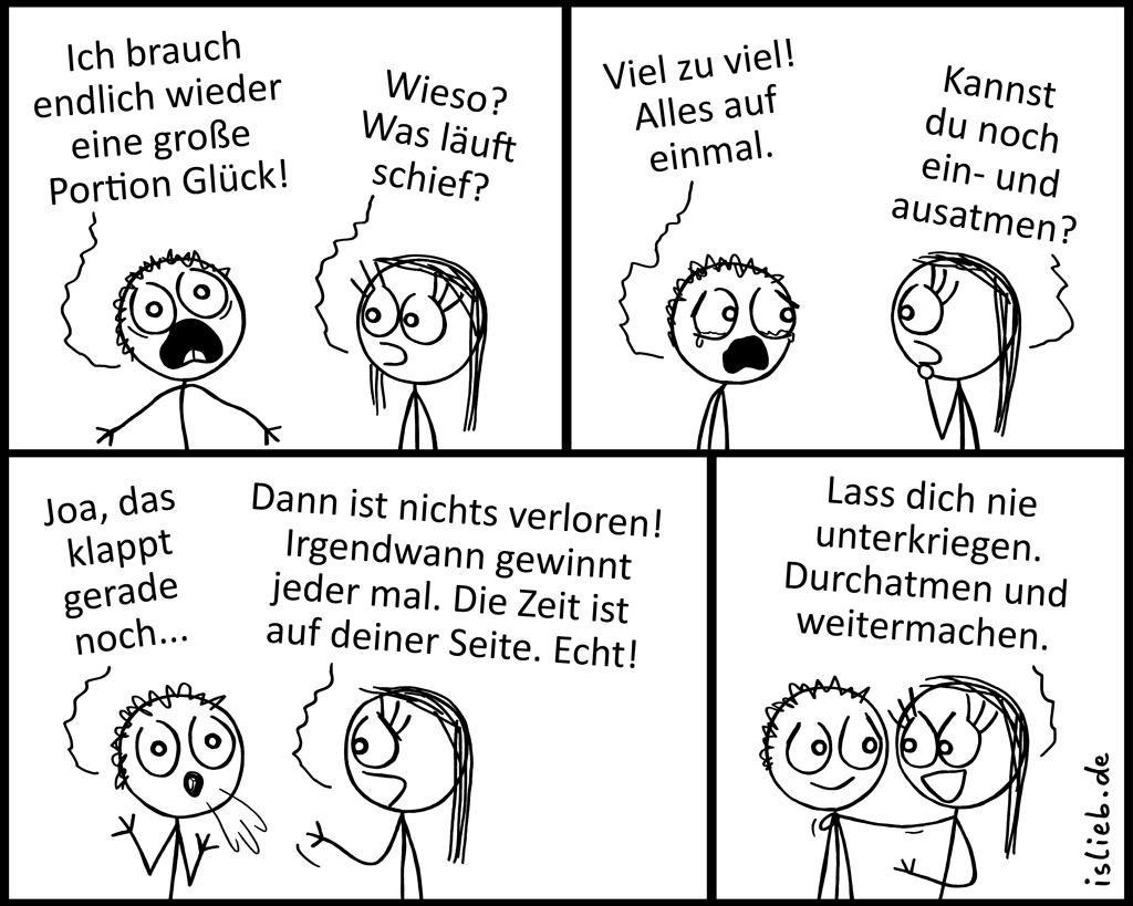 Atmen | Comic übers Leben | is lieb?