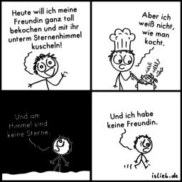 Kochen & kuscheln | Koch-Comic | is lieb?